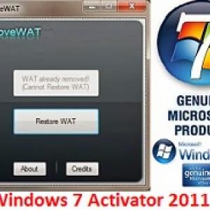 removewat 2.2.7 genuine windows 7 activator