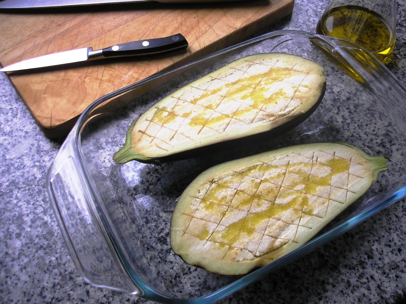 Donde la cocina nos lleve berenjena rellena de bacalao - Berenjenas rellenas de bacalao ...