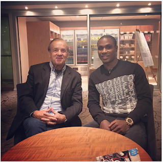 Eagles German Coach, Gernot Rohr Pays Ighalo A Visit In Hilton Watford, England