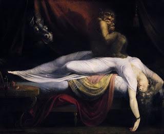 El arte se inspira en la parálisis del sueño: The Nightmare (Füssli)