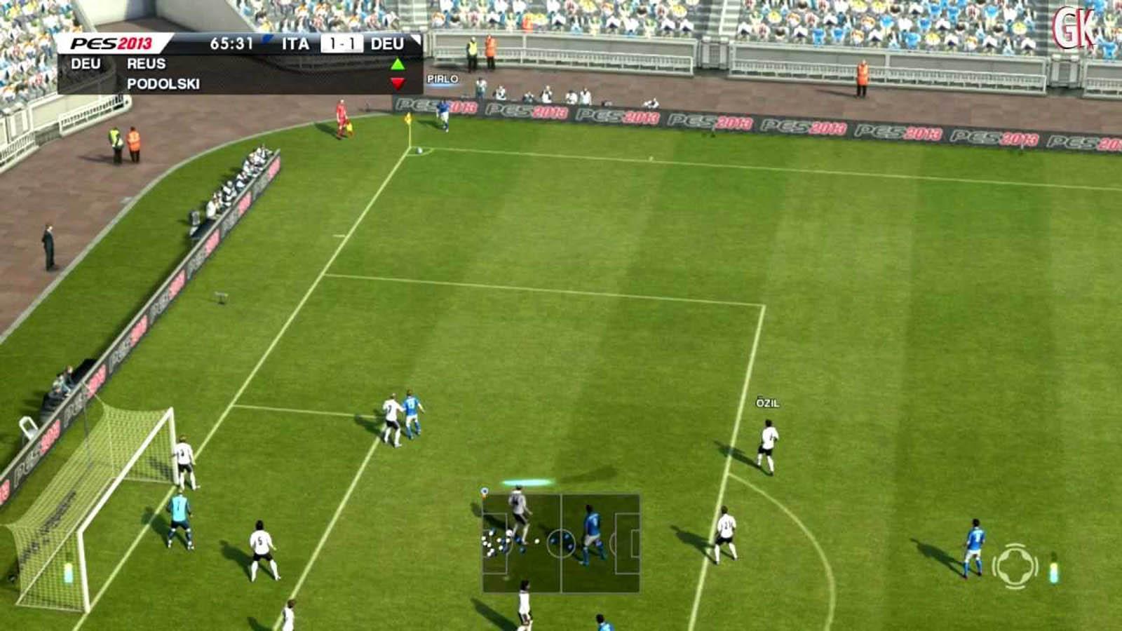 تحميل لعبة PES 2013 مضغوطة برابط واحد مباشر + تورنت كاملة مجانا