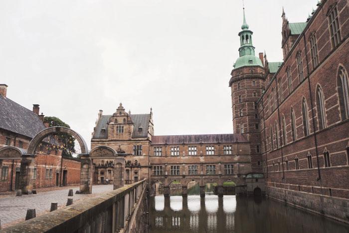Château de Frederiksborg au Danemark