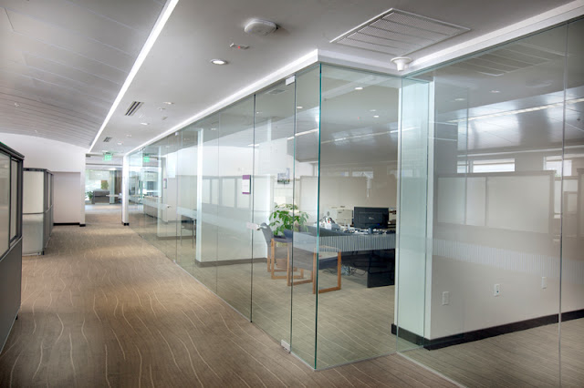 Maintain Privacy By Installing The Classic Glass Walls