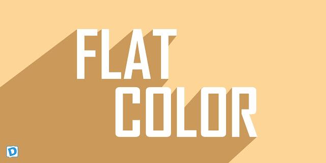 Penjelasan dan Kumpulan Warna Desain Flat Lengkap
