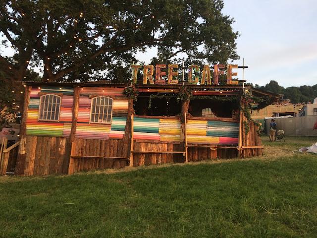 Tree Cafe at Glastonbury 2017