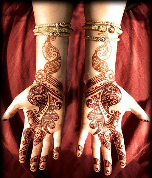 And Fashion ...Latest Arabic Mehndi Designs 2011 For Hands