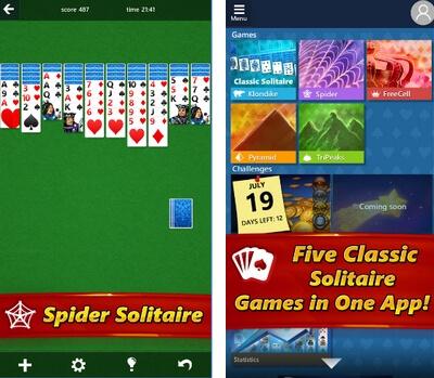 Η πασιέντζα των Windows τώρα σε Android και iOS