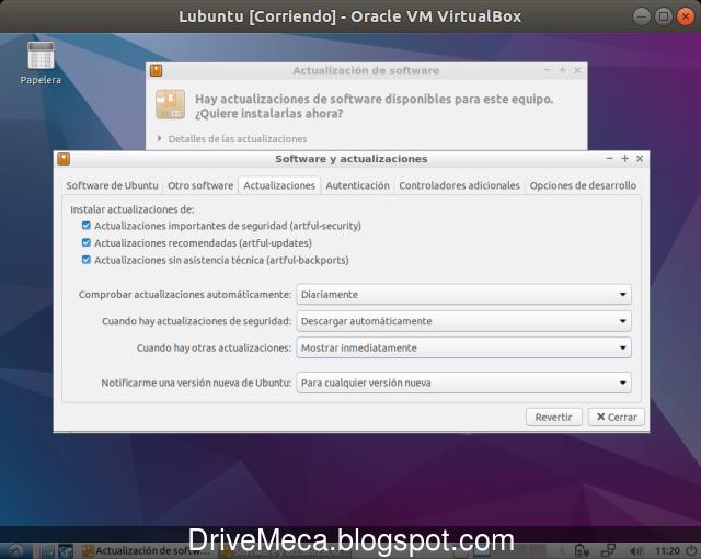 Modificamos la forma de alertarnos cuando hay actualizaciones en Lubuntu