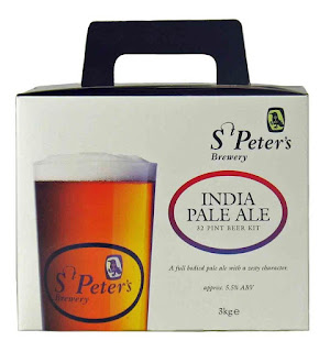 St Peters Brewery Indian Pale Ale (IPA) Beer Kit