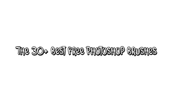 The 30+ Best Free Photoshop Brushes | Vergenius | Create to