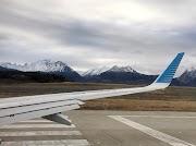 Voando de Aerolineas Argentinas para o FIM DO MUNDO