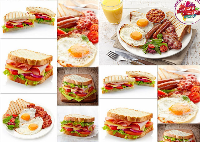 Download image quality breakfast, sandwiches, eggs, juice