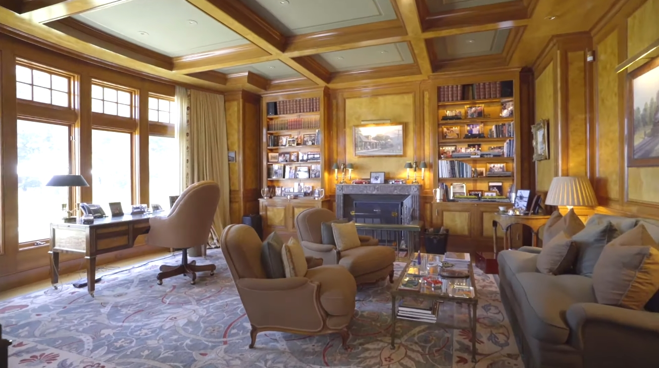 Mansion Interior Design Tour vs. Elegant Waterfront Compound in East Hampton, New York   Sotheby's International Realty