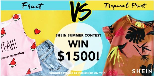 SHEIN Summer Contest!