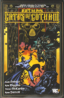 Review Batman Gates of Gotham Scott Snyder Kyle Higgins Trevor McCarthy Graham Nolan Nicholas Gate Bradley Gate Architect Dillon May DC Comics Cover trade paperback tpb comic book
