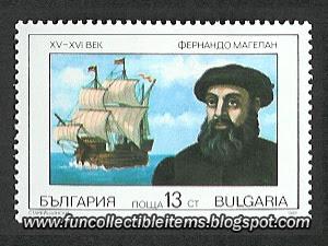 Ferdinand Magellan Stamp