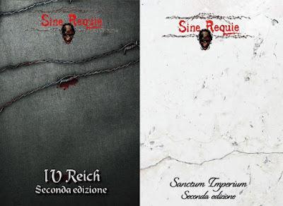 """Sine Requie cover della seconda edizione di """"IV Reich"""" e """"Sanctum Imperium"""""""