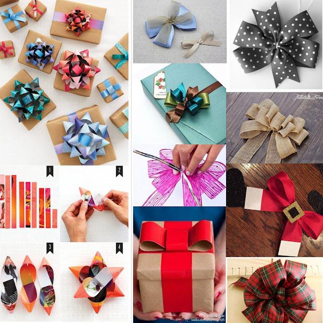 Imagenes Lazos De Navidad.Como Hacer Maravillosos Lazos Para Envolver Los Regalos De