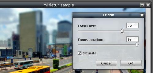 Edit Foto  Miniatur