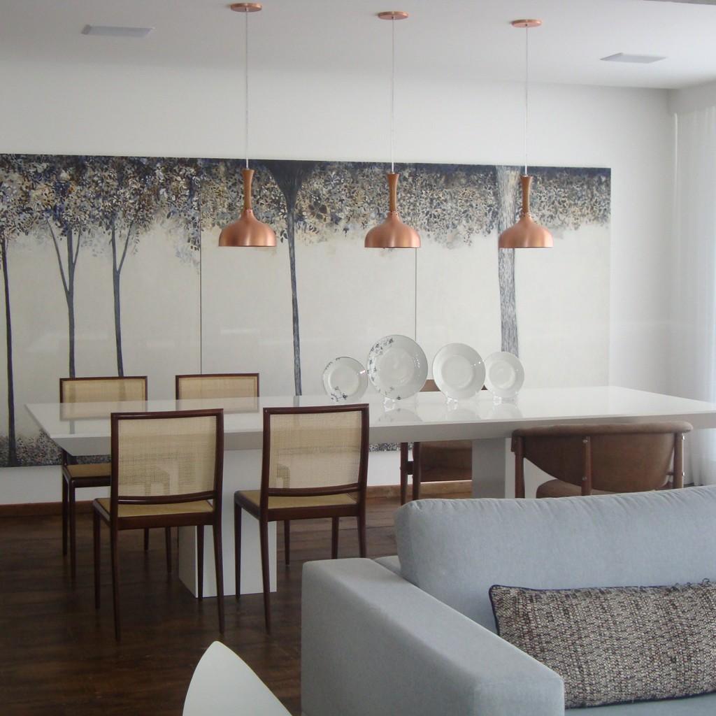 Construindo Minha Casa Clean Decora O De Salas De Jantar Com