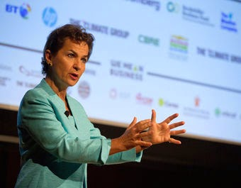 Christiana Figueres, executive secretary of the United Nations Framework on Climate Change, at climate talks in New York City. (Credit: The Climate Group, Flickr)  Click to enlarge.
