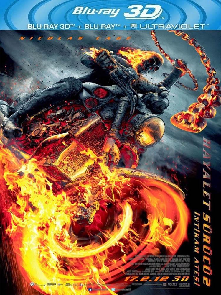 Hayalet Sürücü 2: İntikam Ateşi (2011) 3D Film indir