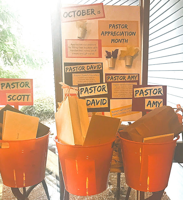 Pastor Appreciation Ideas @michellepaigeblogs.com