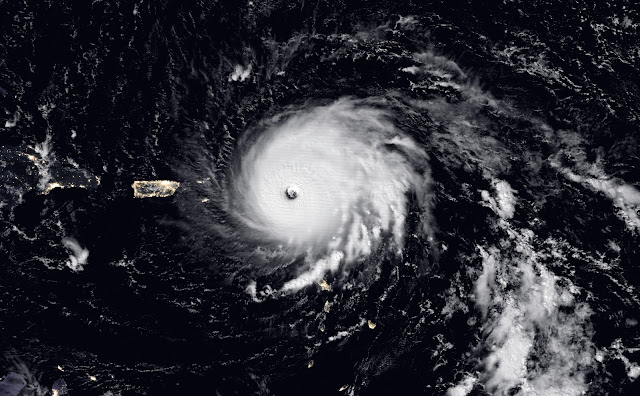 Hurricane Irma seen by Suomi NPP satellite