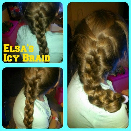 Frozen Hairstyles  elsa icy braid trial