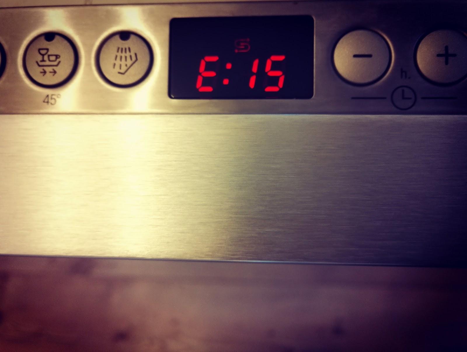 Die Bosch Spulmaschine Und Der Fehlercode E15 Meine Diy Losung Zum
