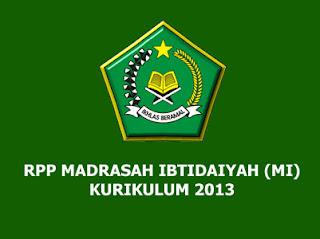 Download RPP Aqidah Akhlak Kelas 3 MI Kurikulum 2013 (Madrasah Ibtidaiyah)