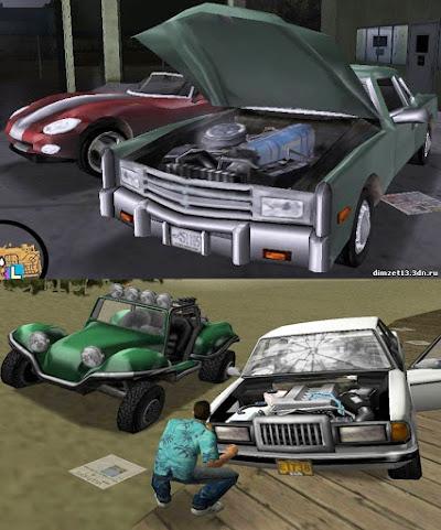 gta 3 iii vc mod hd xbox cars pc comparison