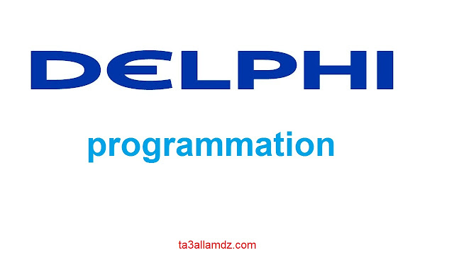 delphi language programmation