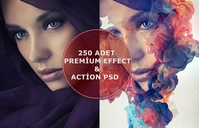 Photoshop Efekt Paketi, Photoshop Premium Efekt PSD İndir