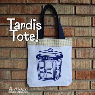 http://www.doodlecraftblog.com/2016/05/police-box-tardis-tote-bag.html