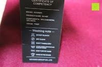 Waschsymbole: Novawo® Luxus Kaschmir und Wolle Vermischung Schal Herren Damen (8 Farben)