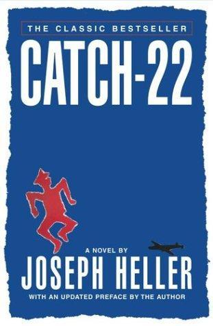 Book cover for Joseph Heller's Catch 22 in the South Manchester, Chorlton, and Didsbury book group