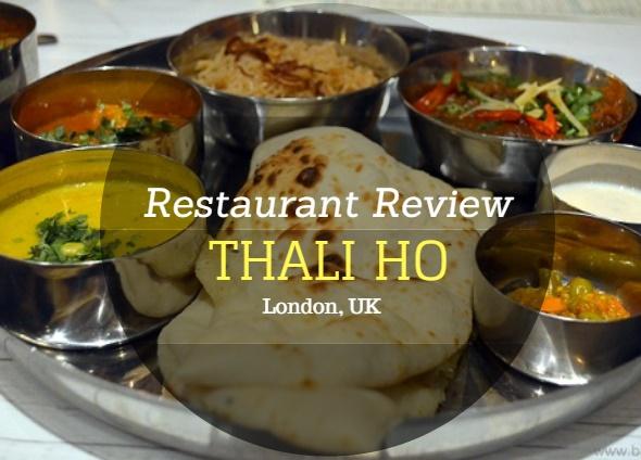 thali ho halal indian restaurant london