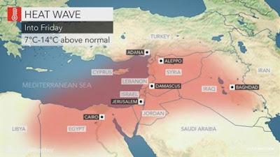 يدعو عدم مغادرة المنزل.. موقع عالمي يحذر من موجة حارة في مصر الخميس و الجمعة