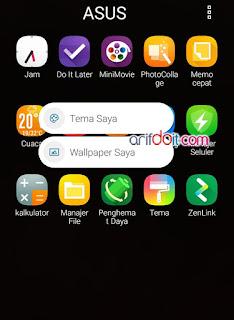Fitur Baru Quick Menu Pada App Zenfone 3 Max ZC553KL