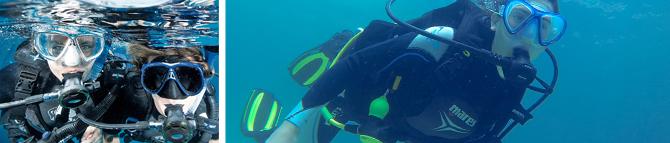 scuba plus buceo en menorca descubre el buceo con Try Scuba Diving