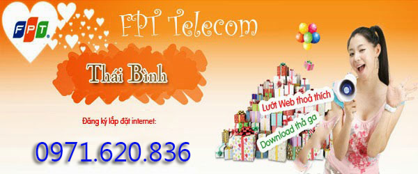 Lắp Đặt Internet FPT Tại Thái Bình
