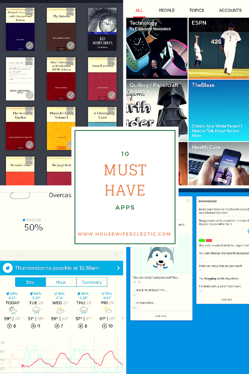 10 Must-Have Apps for Your Android or iOS Phone - Housewife