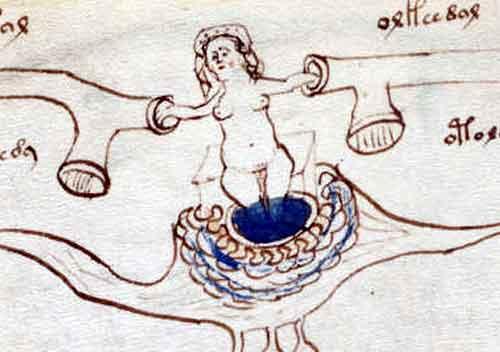 ভয়নিখের-একটি-পাতা, voynich-manuscript-pages