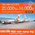Jetstar khuyến mại vé máy bay giá rẻ 16.000 chào năm mới 2016