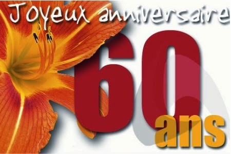 Texte Invitation Anniversaire 60 Ans