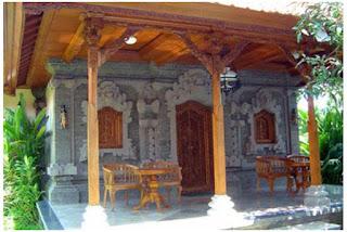 Gambar Desain Rumah Adat Bali 1