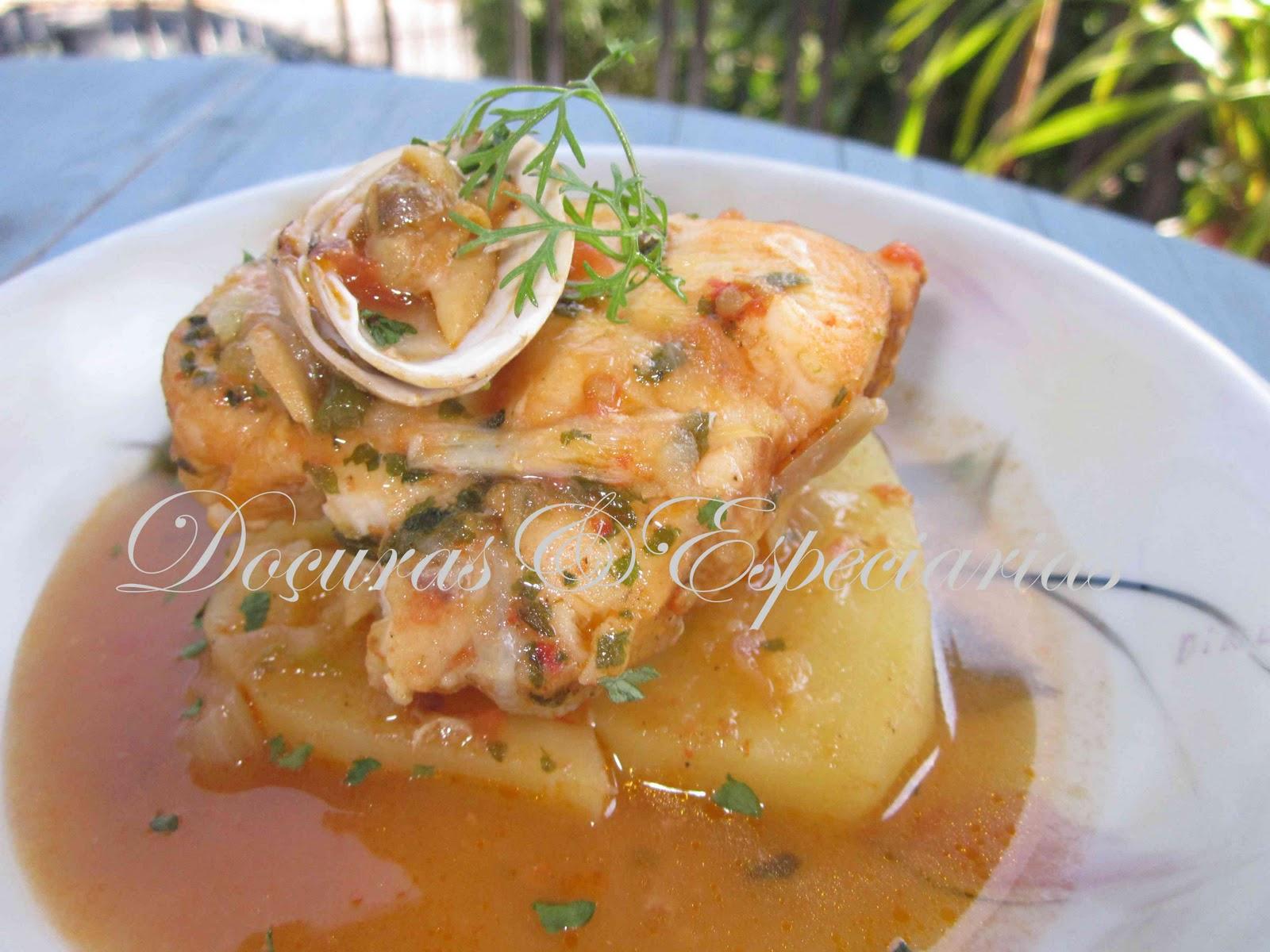 Doçuras & Especiarias: Caldeirada de Peixe e Marisco
