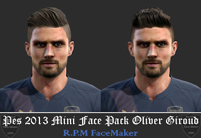 Pes 2013 Mini Facepack Olivier Giroud By R.P.M
