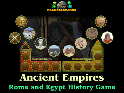 Ancient Empires Rome and Egypt